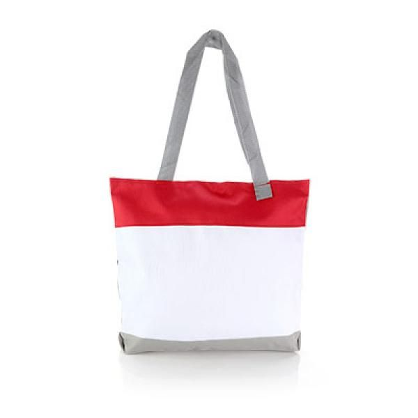 Bloomington Convention Tote Bag Tote Bag / Non-Woven Bag Bags Eco Friendly TNW6007Thumb_Red[1]